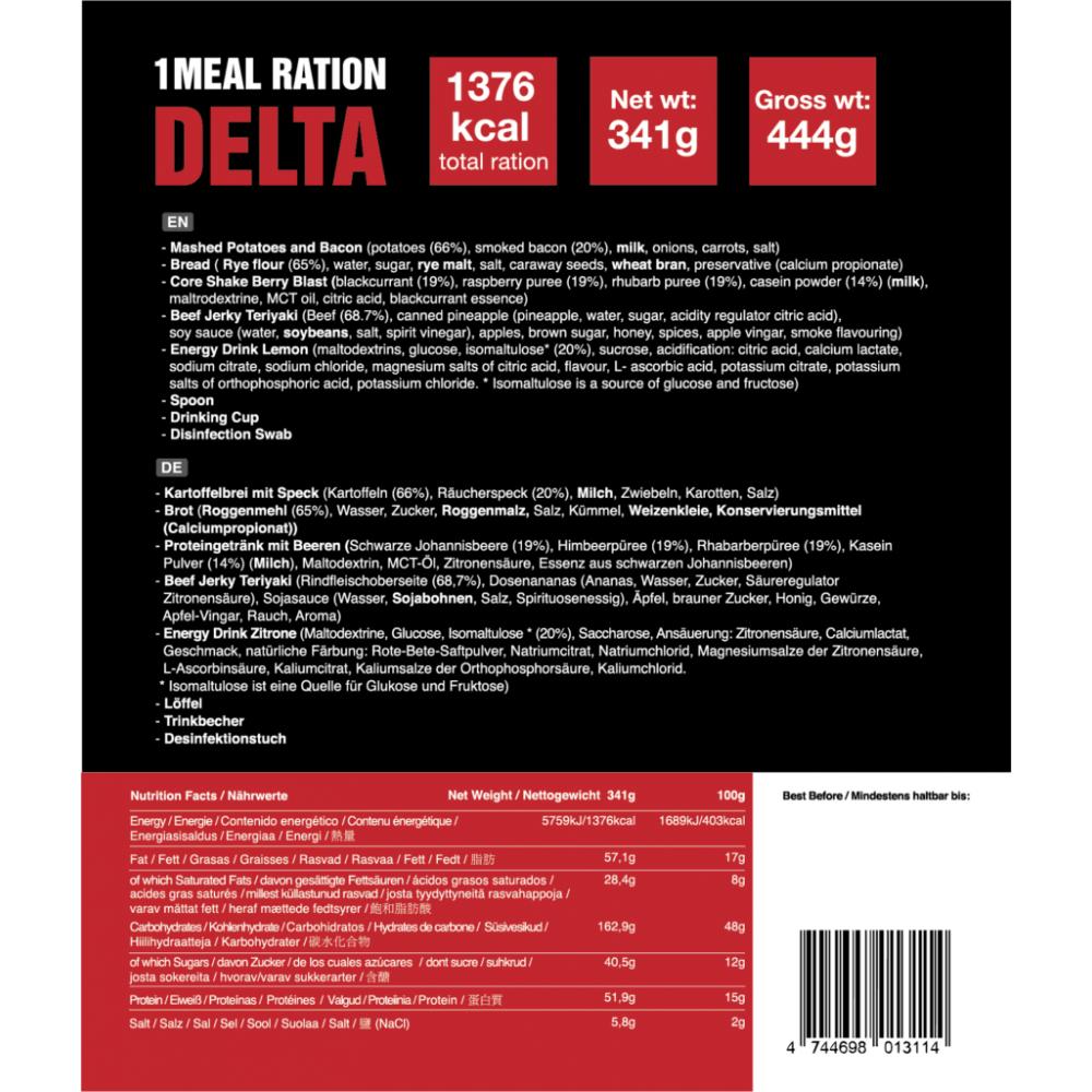1 Meal Ration DELTA 341g