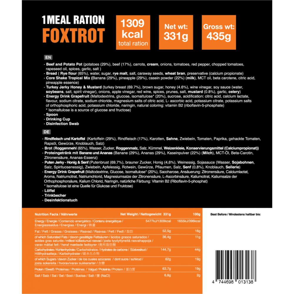 1 Meal Ration FOXTROT 331g