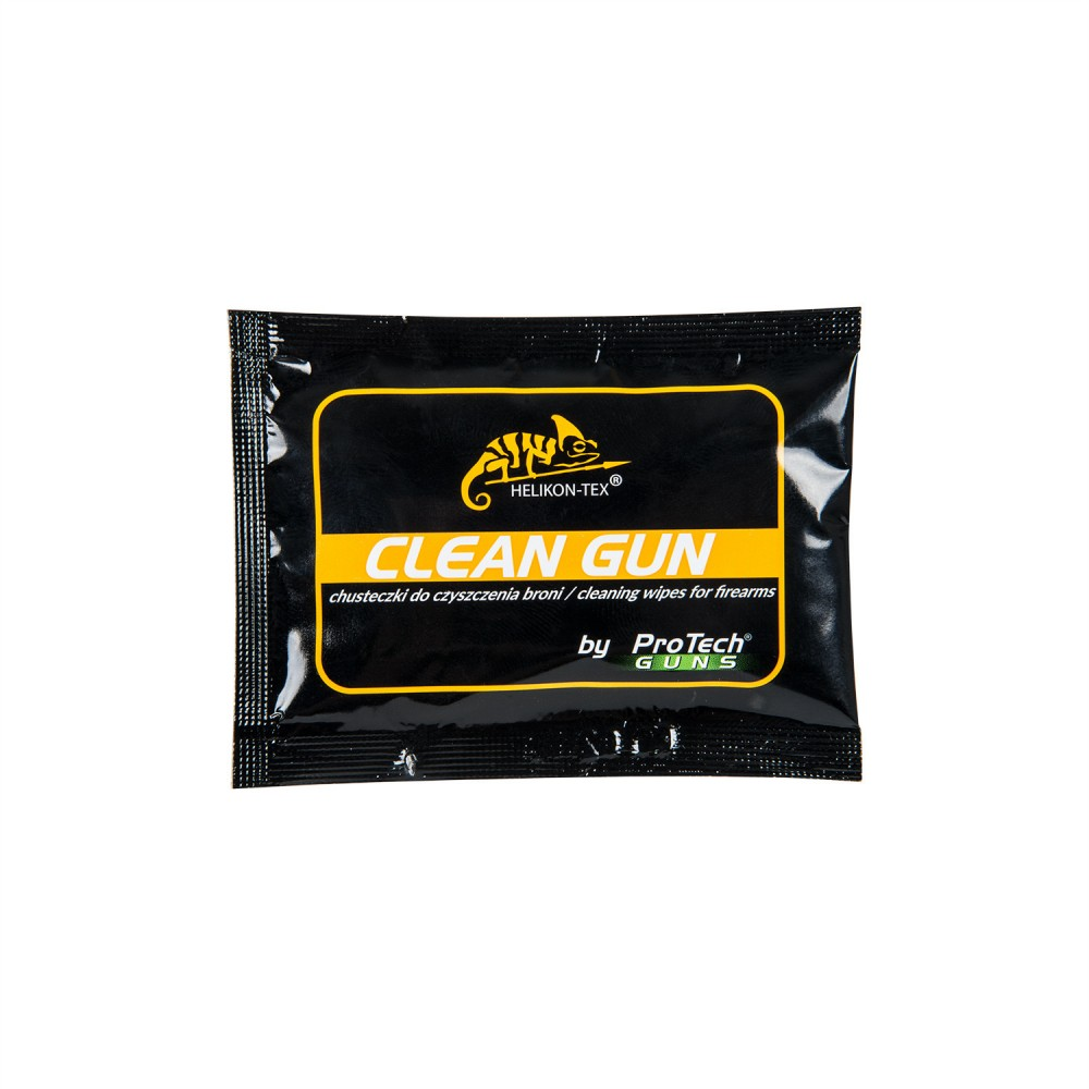 CLEAN GUN WEAPON CLEANING WIPES