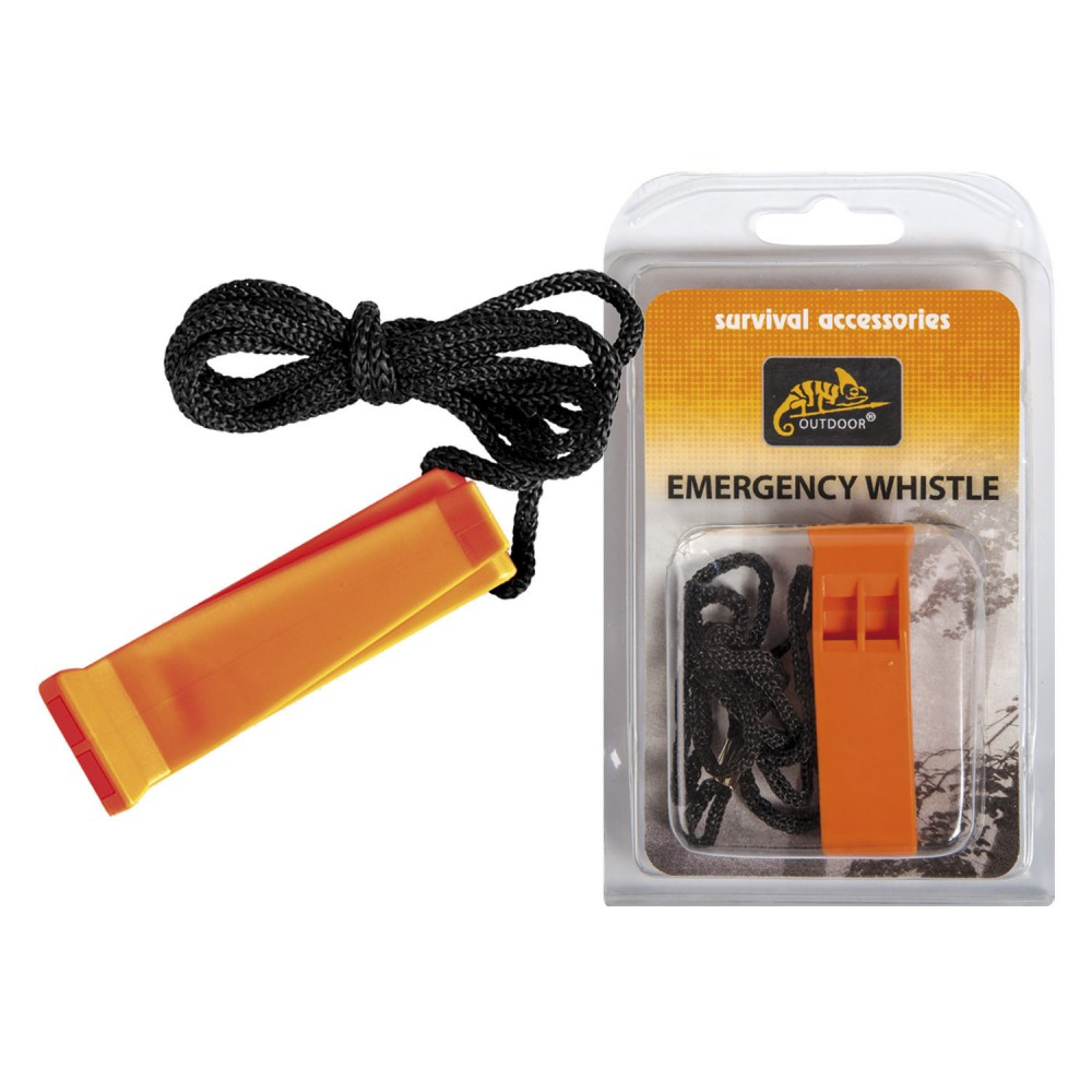 EMERGENCY WHISTLE - POLYPROPYLENE