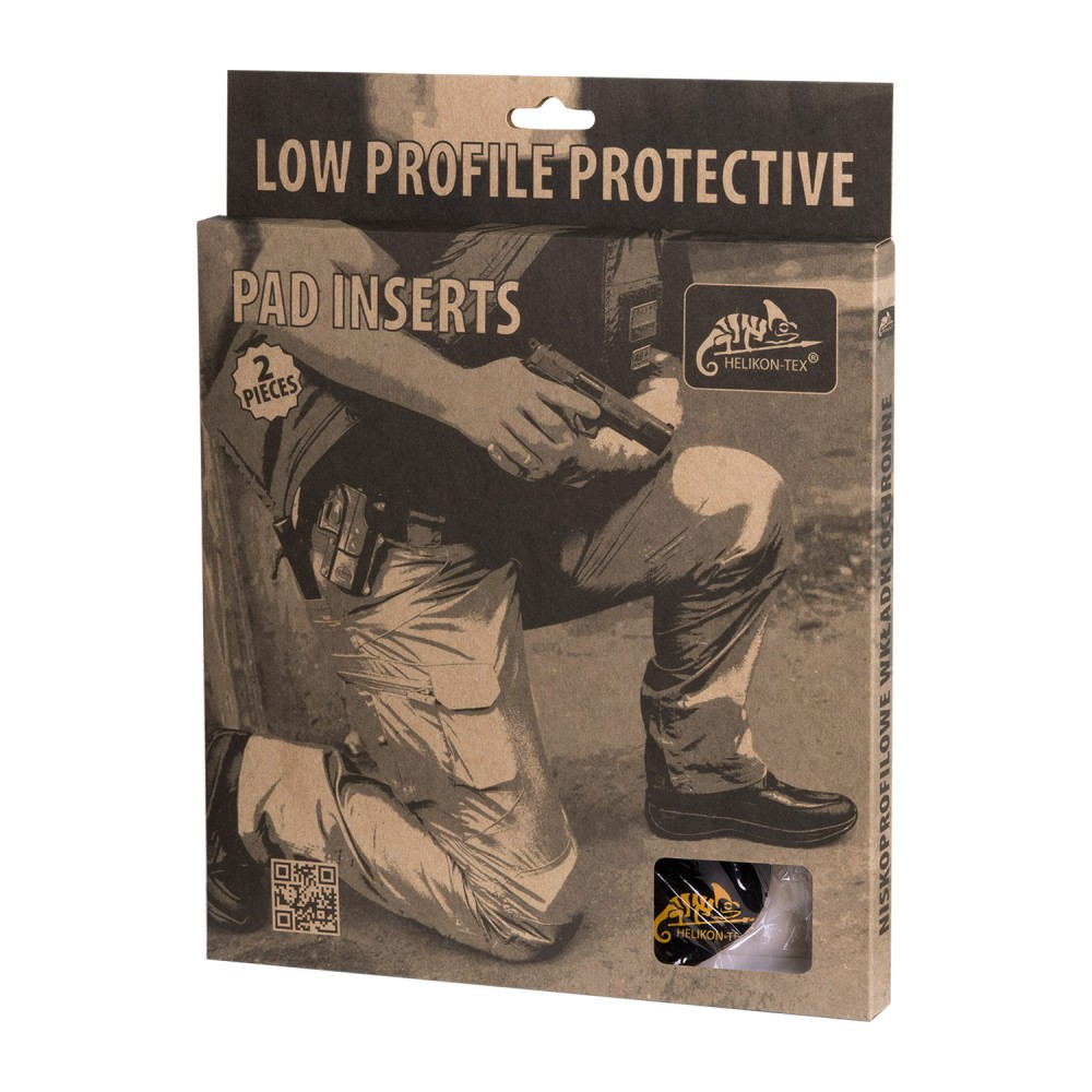 LOW-PROFILE PROTECTIVE PAD INSERTS