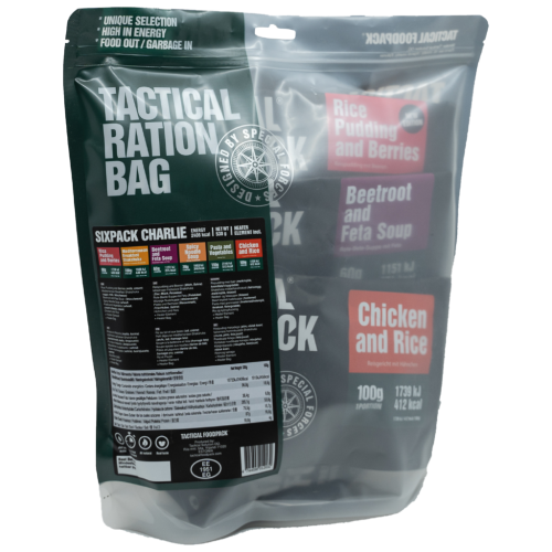 Tactical Sixpack Charlie 530g