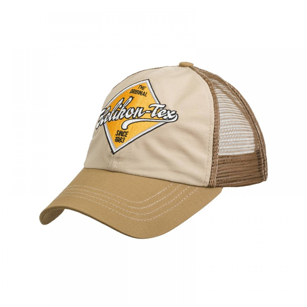 TRUCKER LOGO CAP - COTTON RIPSTOP