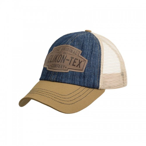 TRUCKER LOGO CAP - DENIM