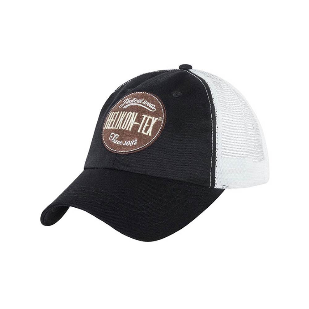 TRUCKER LOGO CAP - COTTON TWILL