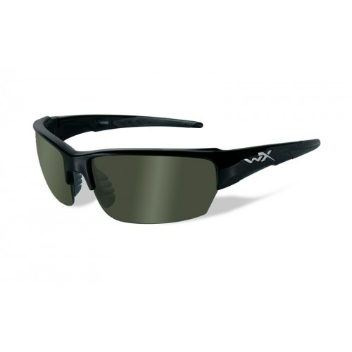 SAINT Polarized Green Gloss Black Frame