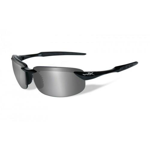 TOBI Pol Grey Silver Flash Gloss Black Frame